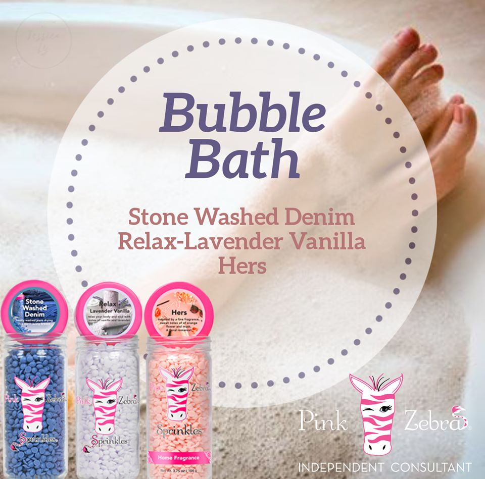 Bubble Bath sprinkle recipe